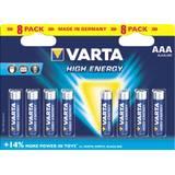 Obrázok produktu Varta HighEnergy AAA 8x